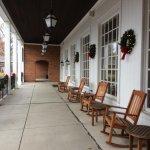 "Front ""veranda"" opf the Virginia building"