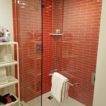 The updated shower which I loved!