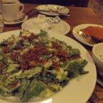 Horrible watery caesar salad