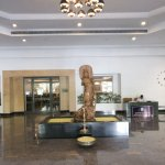 Grand entrance to hotel greenpark visakhapatnam