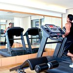 """Well equipped """"Orange Gym"""" facilitates our Guests  with physical fitness and relaxation"""