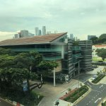 View of Singapore Management University (SMU) from the room!