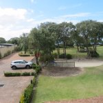 The lawns were well kept, the parking area was close by, the children's playground had easy acce