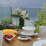 Breakfast on your private balcony