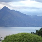 Looking out over Walter Peak and Lake Wakatipu