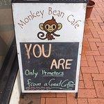 Monkey Bean Cafe.