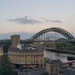 Tyne river and bridge