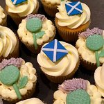 St Andrews Day Cupcakes