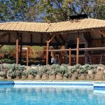 Swimming pool and covered barbeque area awaits you to enjoy!