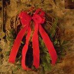 Christmas decoration at Finnegan's Restaurant & Wine Cellar