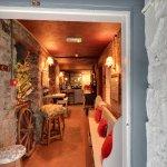 The entrance of Finnegan's Restaurant & Wine Cellar