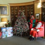 Santa ready to meet children