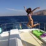 Disfrutando del sol y el mar