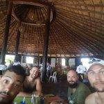 Comiendo en Isla Mujeres