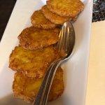 Rosti -- potato pancakes!