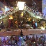 Nativity scene outside