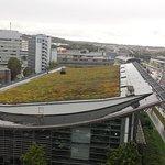 Aussicht aus dem 7. Stock in Richtung Zuffenhausen