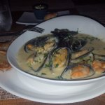 You need to try the mussels here, the Moules Mariniere, were my favoritel