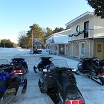 We are located directly on the B101A snowmobile trails!