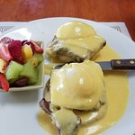 Eggs Benny with Ribeye