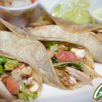 Guapo's delicious Grilled Chicken Tacos