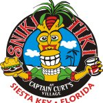 Our logo here at the Sniki Tiki.  Beer and Burgers!