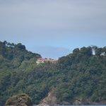 vista del hotel desde el parque nacional Manuel Antonio