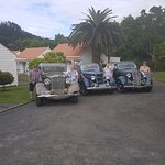 Guest travelling around Coromandel Good parking for classic cars