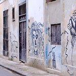 Spray art on the walls near Habana 61