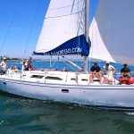 40-foot modern day luxury sailing yachts
