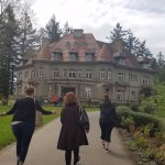 the grounds of the Pittock mansion