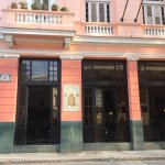 Hotel Ambos Mundos where Hemingway stayed.