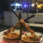 "Special Bulgarian treat - ""crossed swords"" - tasty grill!"