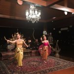 Nightly Thai dance performance at the restaurant