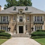 The 1917 Aldredge House was built by a wealthy cattleman for his debutante bride.