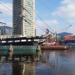 USS CONSTELLATION, SS CHESAPEAKE and USS TORSK, Baltimore Inner Harbor