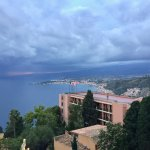 View to gulf of Taormina