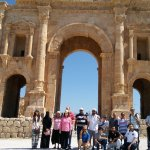 Jerash is the capital and the largest city of Jerash Governorate, Jordan,