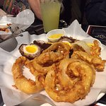 Onion Rings and Scotch Eggs, Gluten Free
