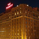 The World Famous Peabody Hotel in Memphis,Tennessee.