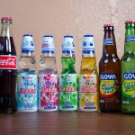 A variety of our international and domestic sodas