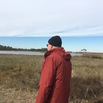 on Gordons Pond trail