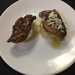Mais foie gras delicioso.