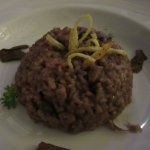 Mushroom pot Risotto at the Mediterranean a la carte