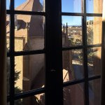 Loretto Chapel Outside our Window