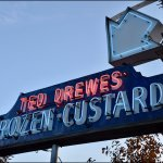 Neon Sign - Ted Drewe's Frozen Custard Since 1929, 6726 Chippewa St, St Louis, MO