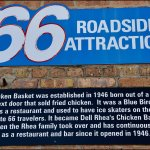Route 66 Sign, Dell Rhea's Chicken Basket, 645 Joliet Rd, Willowbrook, IL