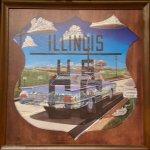 Artwork, Dell Rhea's Chicken Basket, 645 Joliet Rd, Willowbrook, IL