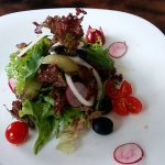 Its really fresh and yummy with great dressing salad..