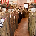 Military Museum Inside the Route 66 Association Hall of Fame & Museum, 110 W Howard St, Pontiac,